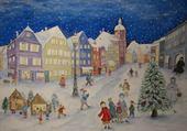 Peinture de neige
