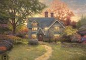 cottage by T. Kindade