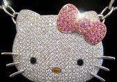 Puzzle collier hello kitty