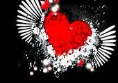 coeur ailé