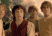 Pippin - Frodon - Sam - Merry