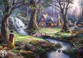 Snow White by Thomas Kinkade