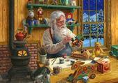 Puzzle père noel