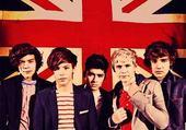 one direction drapeau anglais