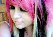 i like my pink hair