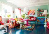 interieur coloré