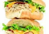 sandwichs au thon et au fromage