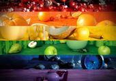 Puzzle fruitcolors