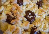 crumble pomme chocolat