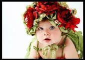 Puzzle bebe fleur