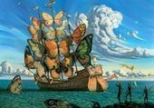 Puzzle Vladimir Kush - Departure of the