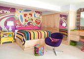 chambre coloré