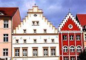 Les façades autour du Marktplatz