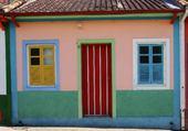 Puzzle Casa Colorida