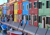Puzzle Colorful houses - Burano 2