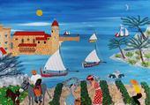 Puzzle les vendanges de Collioure