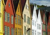 Fachadas - Bergen, Noruega