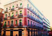 Puzzle Fachadas de colores - Madrid