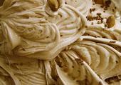 glace caramel et noisettes