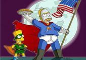 Puzzle Simpson Super Héros