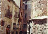 Narrow street in the Spanish