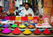 Inde, marchand de couleurs