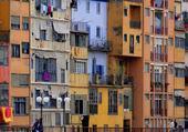 Puzzle Façades Girona - Spain 8