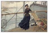 femme sur un bateau-henry bacon