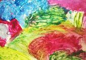 peinture sablée