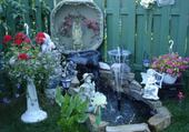 Puzzle fontaine d'eau