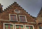 Façades Bruges - Belgique 14