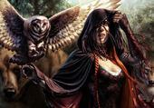 La Femme et le Hibou