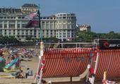 Puzzle Sur la plage de Biarritz