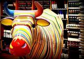 vache en couleurs