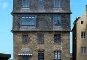 Façades Saint-Malo - France