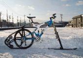 vélo de neige
