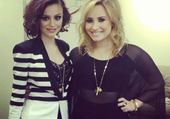 Cher Lloyd et Demi Lovato