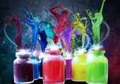 Puzzle Explosion couleurs