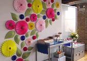 mur fleurie