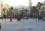 Puzzle plaza real barcelone