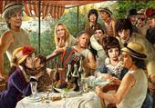 déjeuner des canotiers revu...