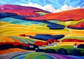 paysage coloré