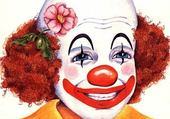 clown souriant