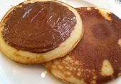 pancakes nutella
