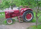 Vieux tracteur