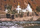 Puzzle les trois stupas