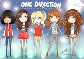one direction girls version