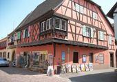 maison à colombage  Bas-Rhin