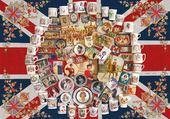 Puzzle famille royale