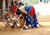 marché au Swarziland